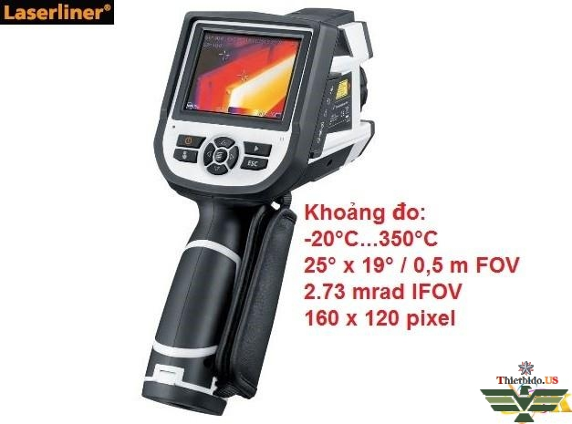 Camera nhiệt laserliner - ThermoXplorer Pro - 082.081L Camera nhiệt laserliner 082.083A