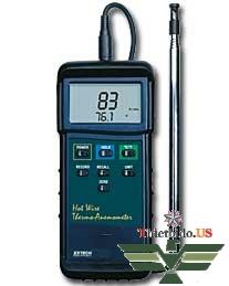 Máy đo tốc độ , lưu lượng, nhiệt độ gió Extech 407123