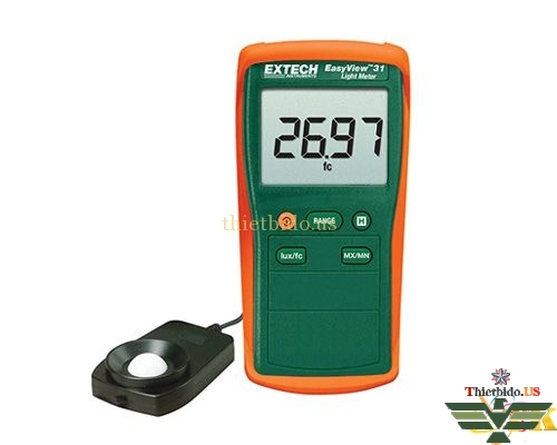 Máy đo cường độ ánh sáng Extech EA31 (20.000 Fc/20.000 Lux)
