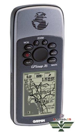 Máy định vị vệ tinh Garmin GPSMAP76