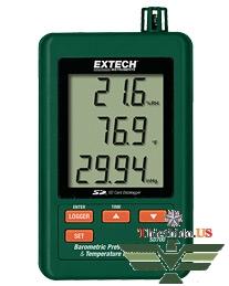 Máy đo áp suất khí quyển nhiệt độ độ ẩm Datalogger Extech SD700