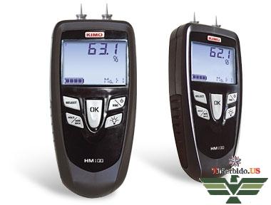 Máy đo độ ẩm gỗ bê tông vôi vữa - HM100