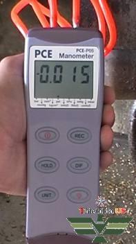 Thiết bị đo áp suất, áp suất chêch lệch PCE-P05 / 15 / 30 / 50