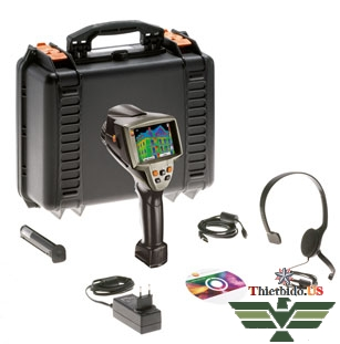 Thiết bị đo ảnh nhiệt camera nhiệt Testo 882