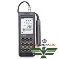 Máy đo EC / TDS / NaCl / ° C Hanna HI 9835