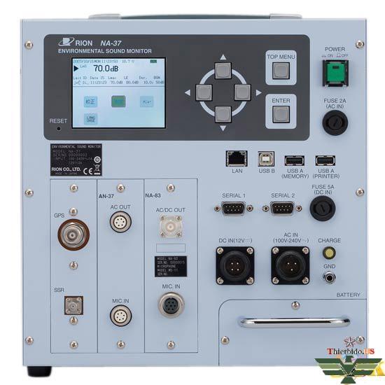 Máy đo tiếng ồn âm thanh Rion NA-37B