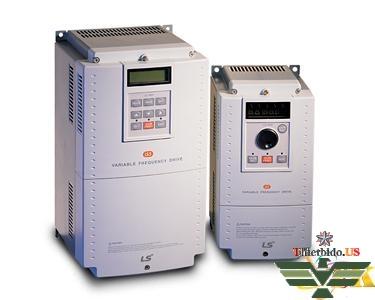 Biến tần LS SV075iS5-2N-3 pha 220V 7.5KW