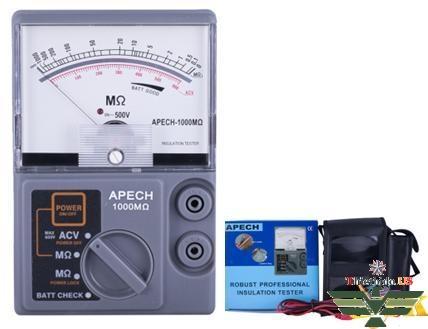 Đo điện trở cách điện APECH 1000