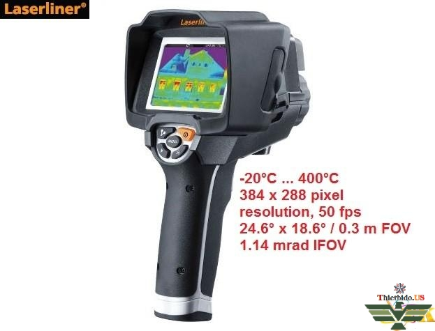 Camera nhiệt laserliner - ThermoCamera Vision XP - 082.088A