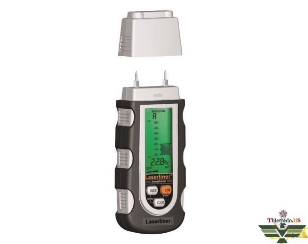 Máy đo độ ẩm gỗ, bê tông, vôi vữa, thạch cao Laserliner 082.020A