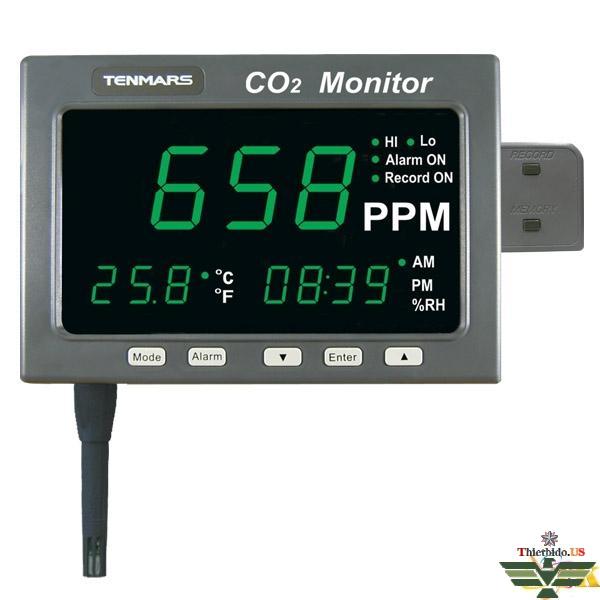 Máy đo khí CO và độ ẩm Tenmars TM-186/ TM-187