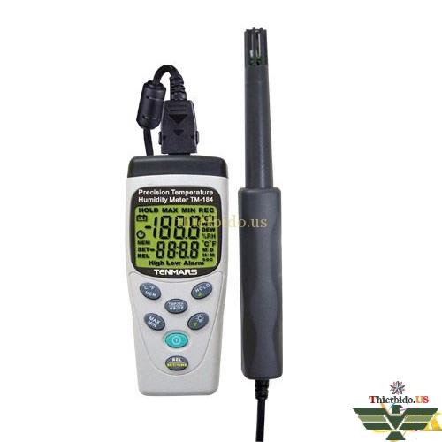 Máy đo nhiệt độ và độ ẩm không khí Tenmars TM-184