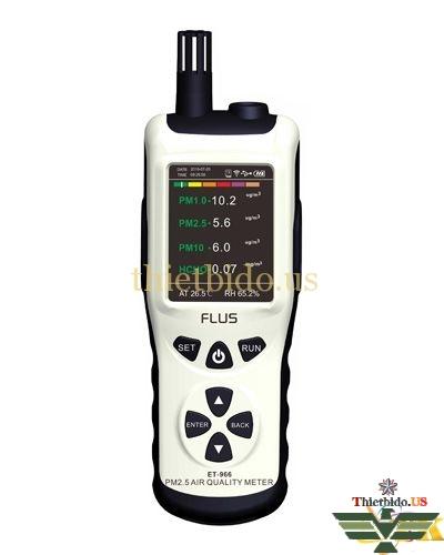 Máy đo chất lượng không khí PM2.5 Flus ET966 (HCHO)