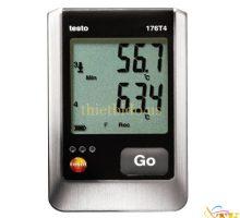 Máy đo nhiệt độ ghi dữ liệu Testo 176 T4
