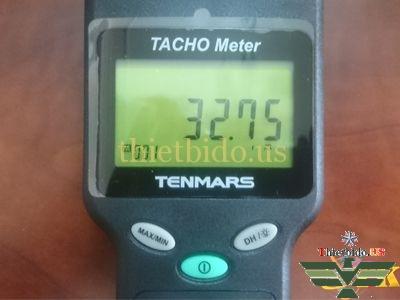 Chức năng xem lại kết quả đo đã ghi trên Tenmars TM-4100