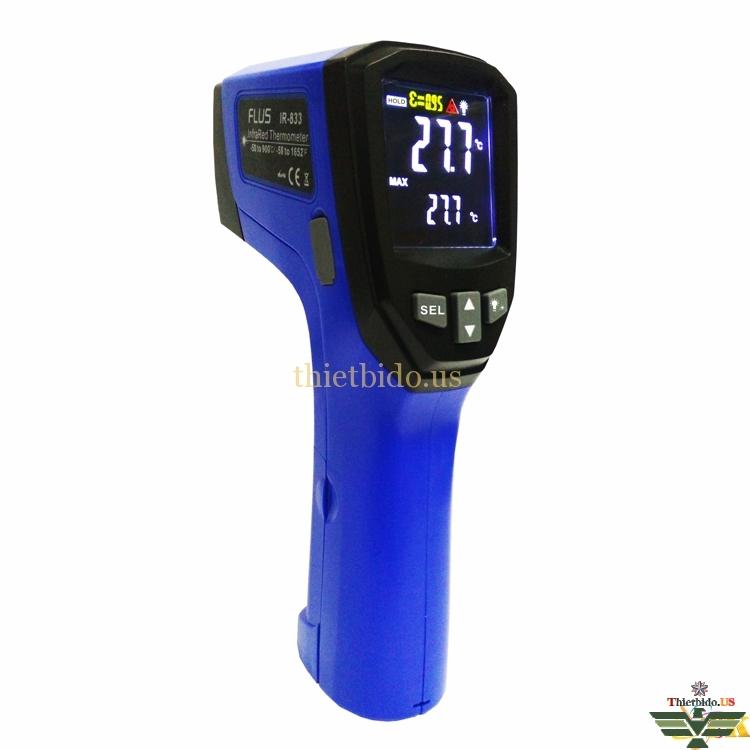 Máy đo nhiệt độ hồng ngoại Flus IR-833-834-835-836