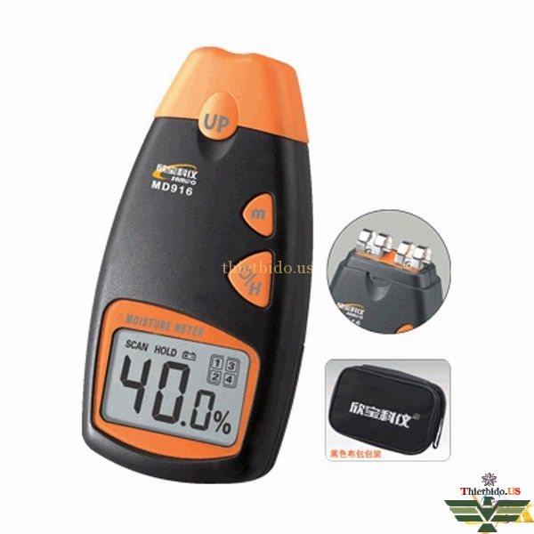 Máy đo độ ẩm giấy MD916 (carton, giấy viết, giấy in, giấy bản đồng)