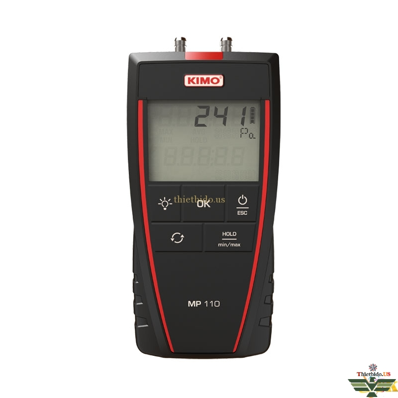Máy đo áp suất - chênh áp Kimo MP110 (-1000 ~ +1000 Pa)