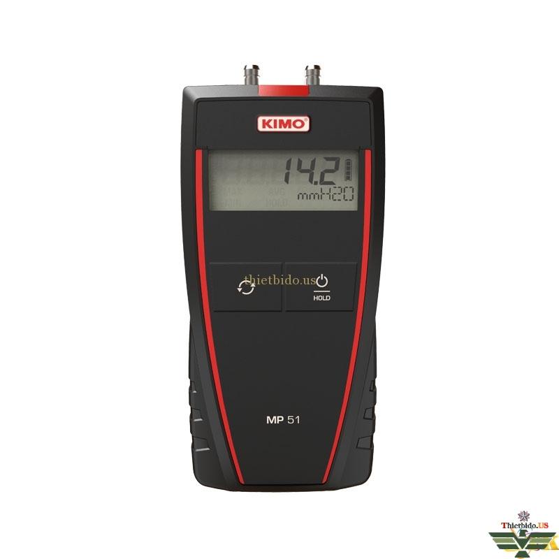Máy đo áp suất - chênh áp Kimo MP51