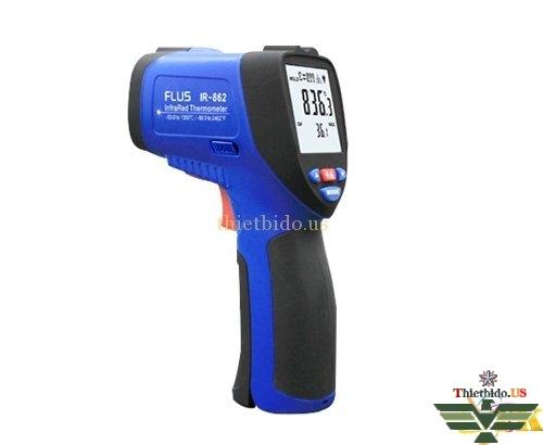 Máy đo nhiệt độ hồng ngoại Flus IR-862 (-50 ~ 1350°C/50:1)
