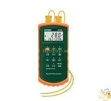 Máy đo nhiệt độ tiếp xúc 2 kênh K,J Extech 421502