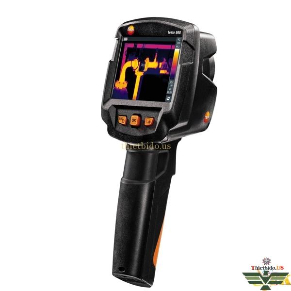 Camera nhiệt máy chụp ảnh nhiệt Testo 868