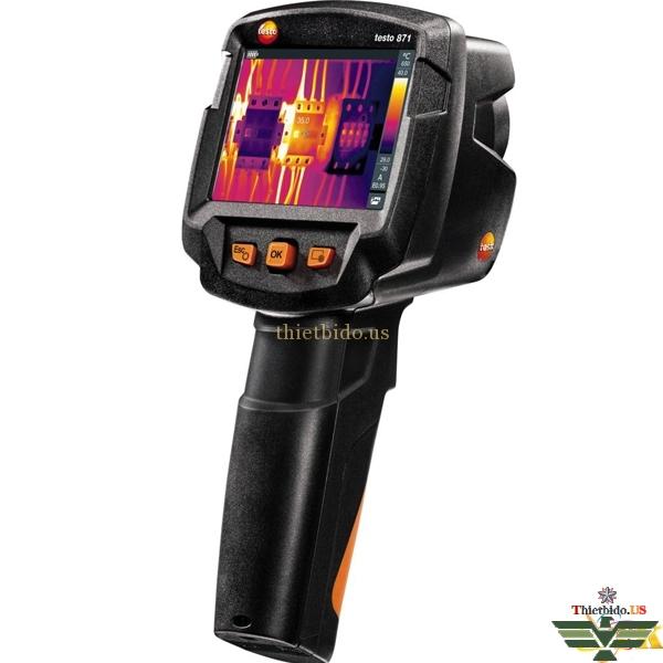 Camera nhiệt máy chụp ảnh nhiệt Testo 871