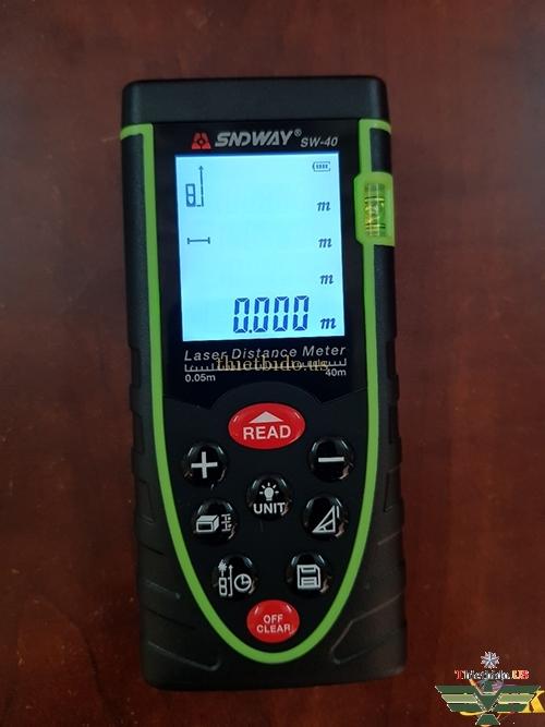 Máy đo khoảng cách SNDWAY SW-40 SW-100: Đập hộp, cách sử dụng