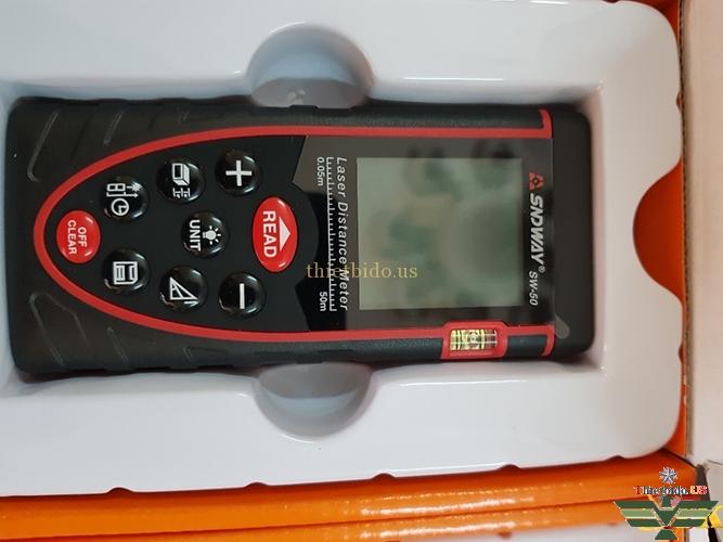 Đập hộp, cách sử dụng Máy đo khoảng cách SNDWAY SW-40 - 100: Thietbido.us