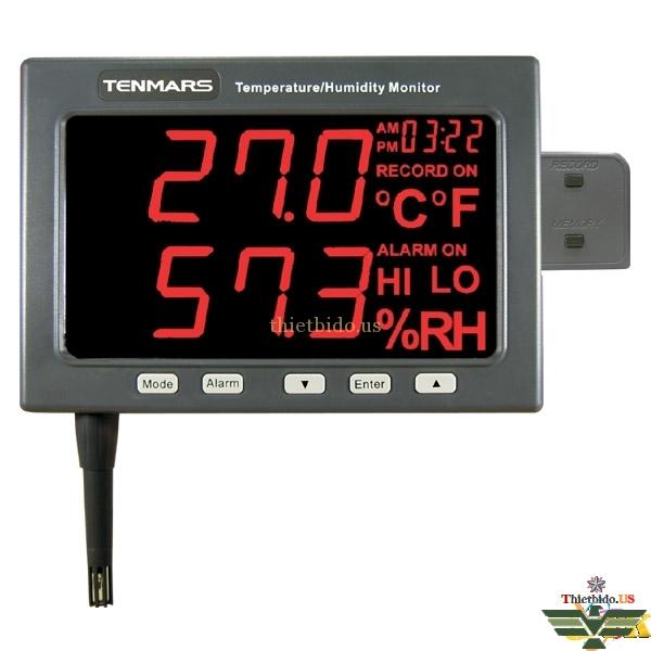 Nhiệt kế tự ghi Tenmars TM-185D