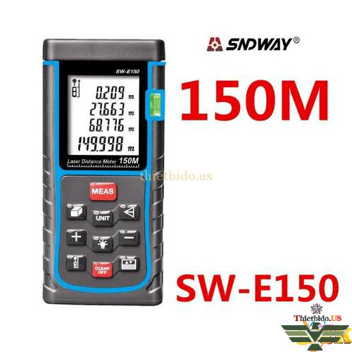 MÁY ĐO KHOẢNG CÁCH LASER SNDWAY SW-E150 150M